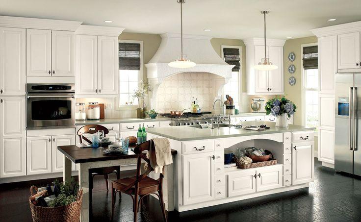 Pro Kitchen - White Painted Raised Panels