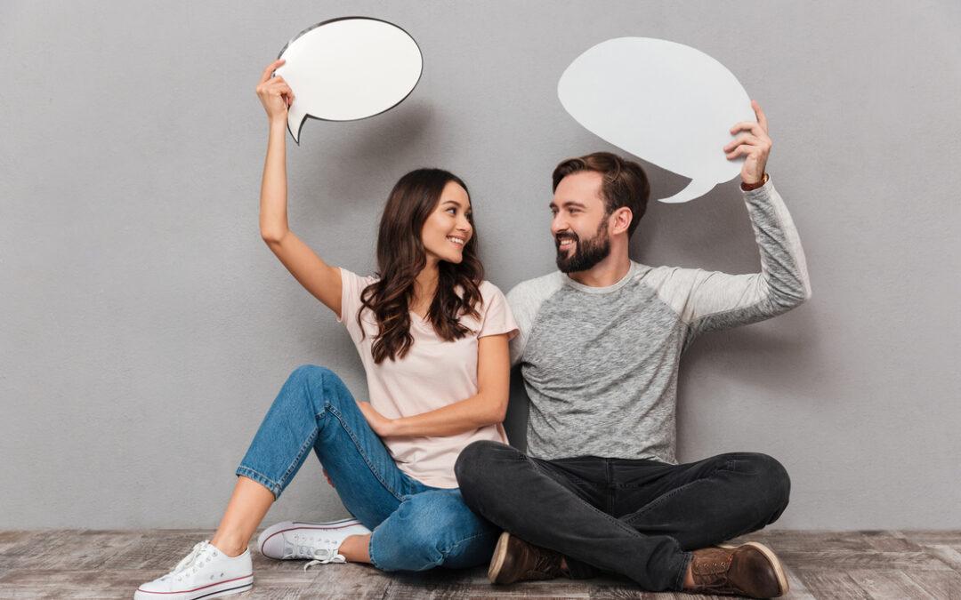 Stronger Relationships couple communicating
