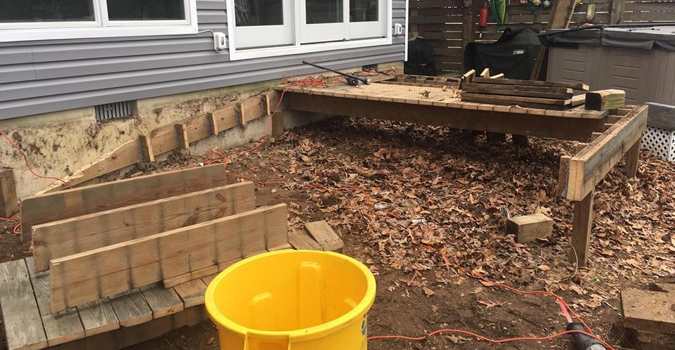 Deck Demo and Trash Hauling Severn 21144