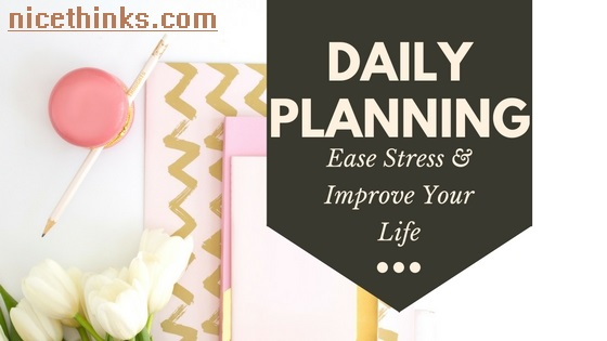 Do daily planning