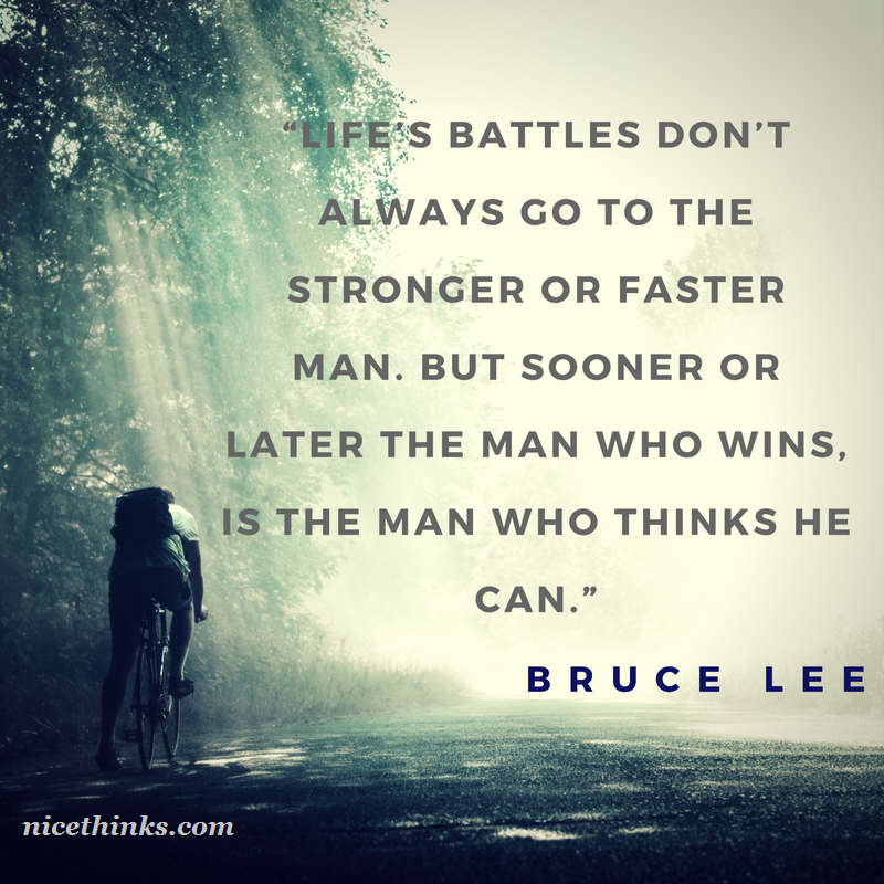 Bruce Lee Winning   Quotes