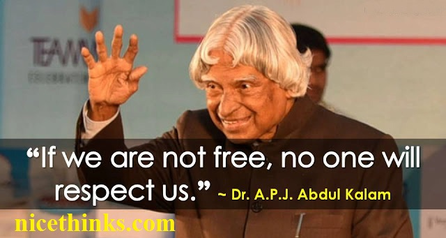 Motivational Quotes By Abdul Kalam