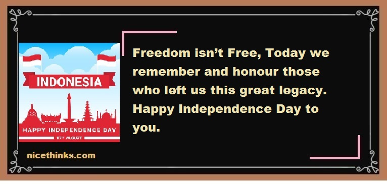 Independence Day (Indonesia) Quotes