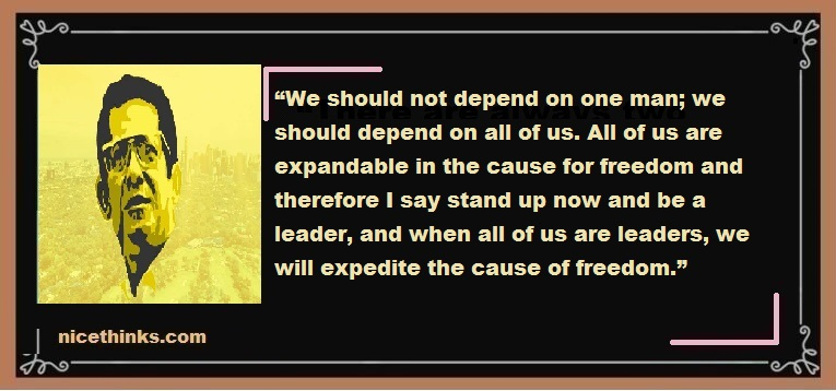 Significant Quotes from Ninoy Aquino