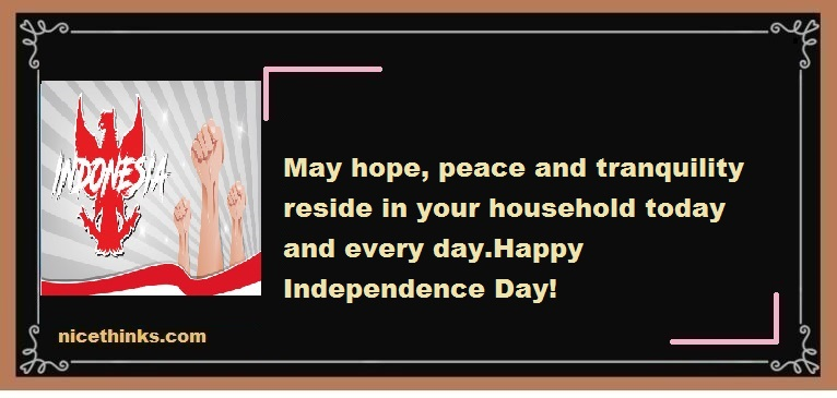 Indonesia Independence Day Wishes