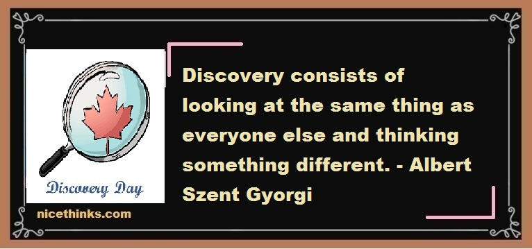 Discovery Day Quotes