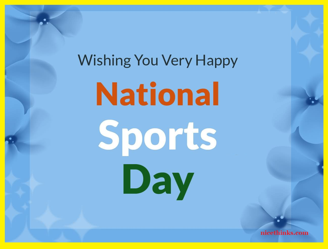 National Sports Day Greetings