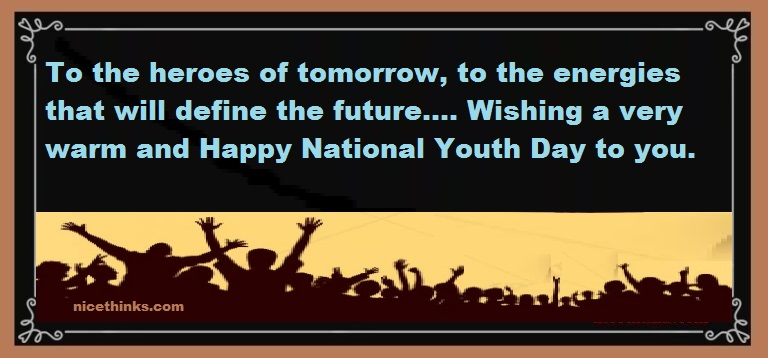 National Youth Day 2020 Messages