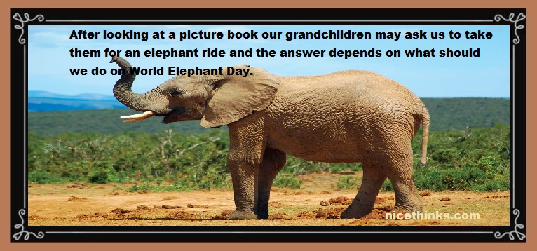 World Elephant Day Messages, Images, Quotes & Wishes