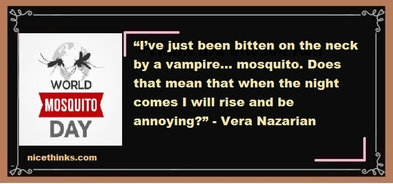 World Mosquito Day Quotes