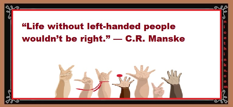 quotes for left handers