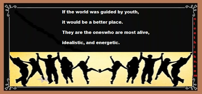 special words for the youth on youth day