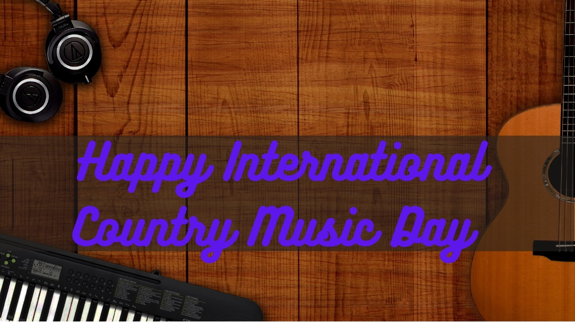 Happy International Country Music Day