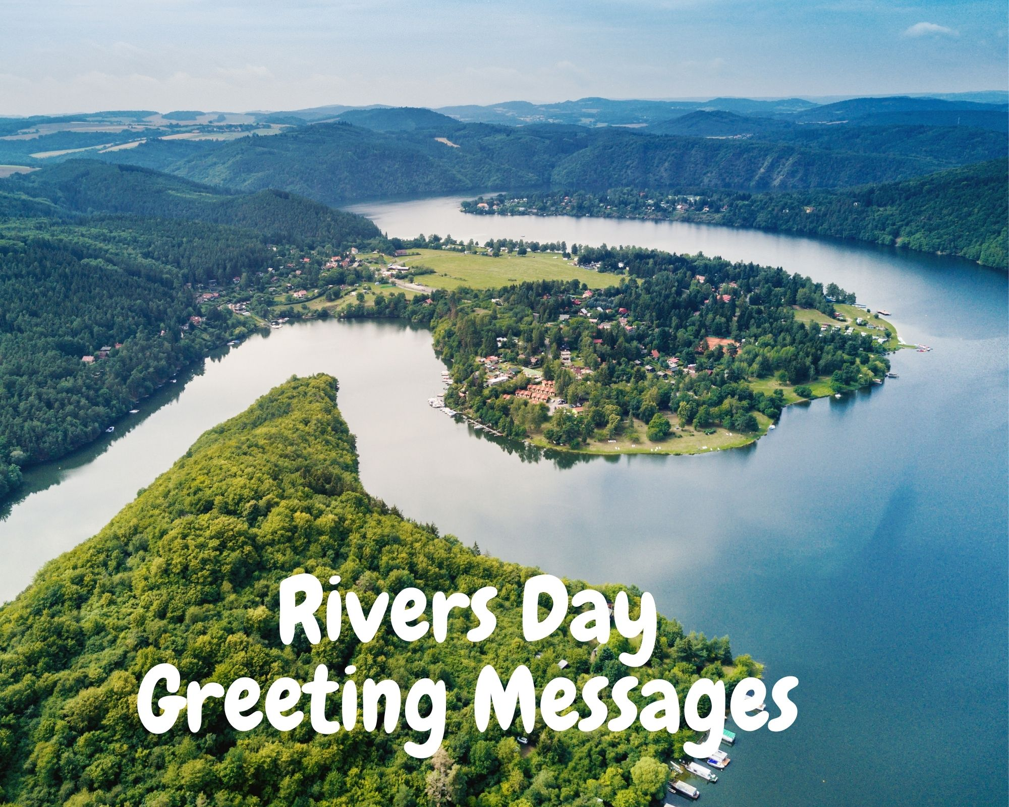 Rivers Day Greeting Messages
