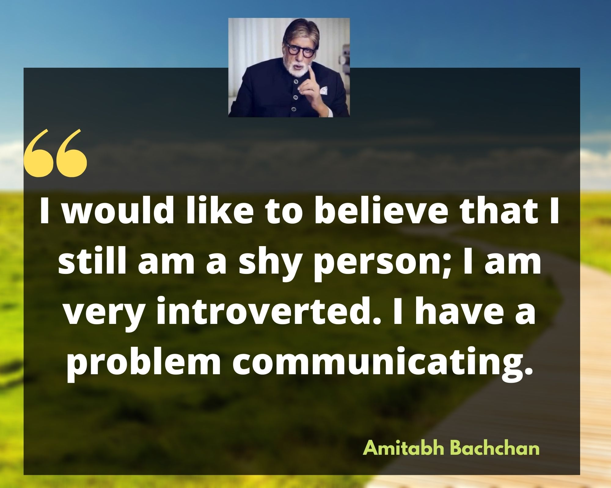amitabh bachchan birthday quotes