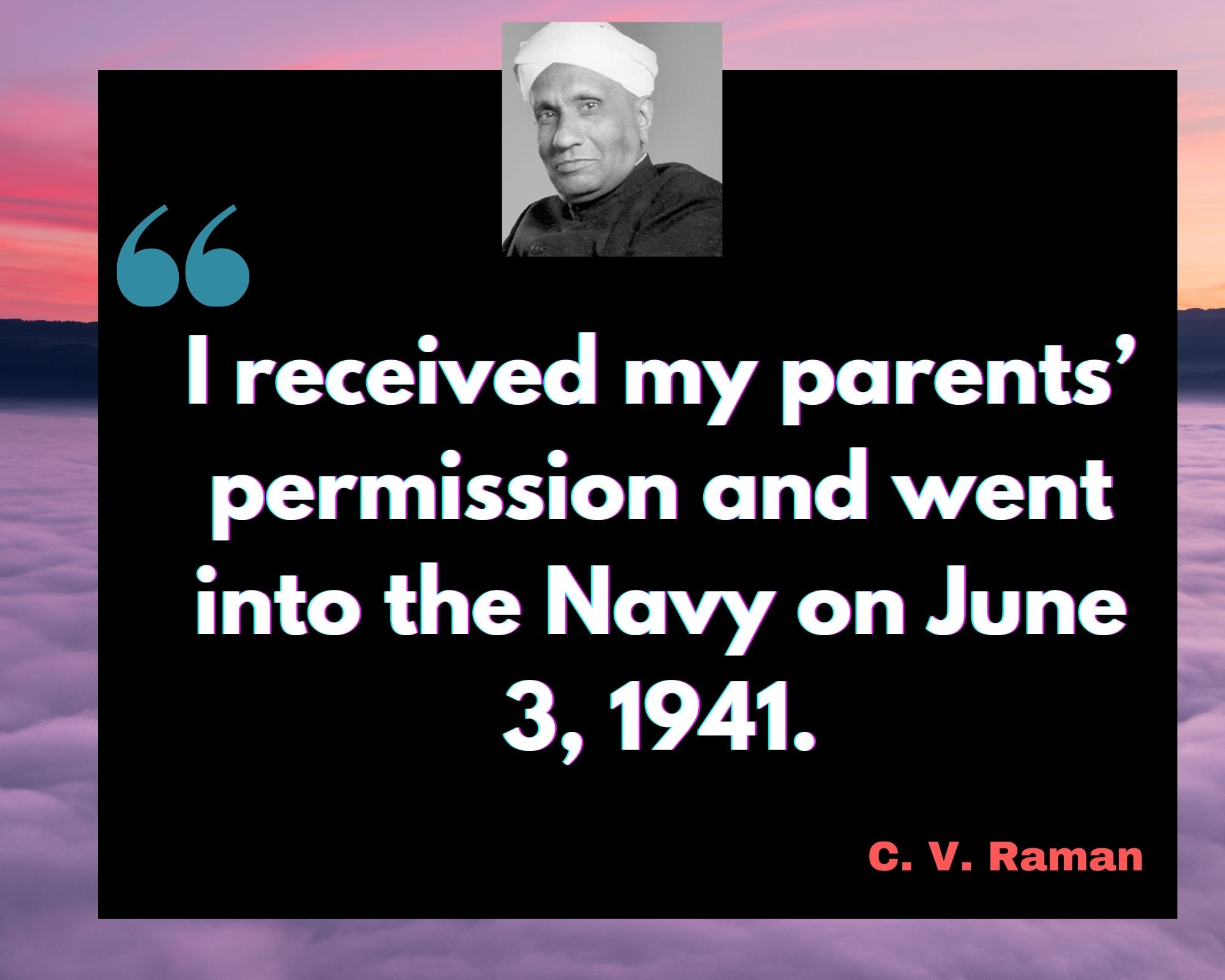 Inspirational C V Raman Quotes For Success In Life
