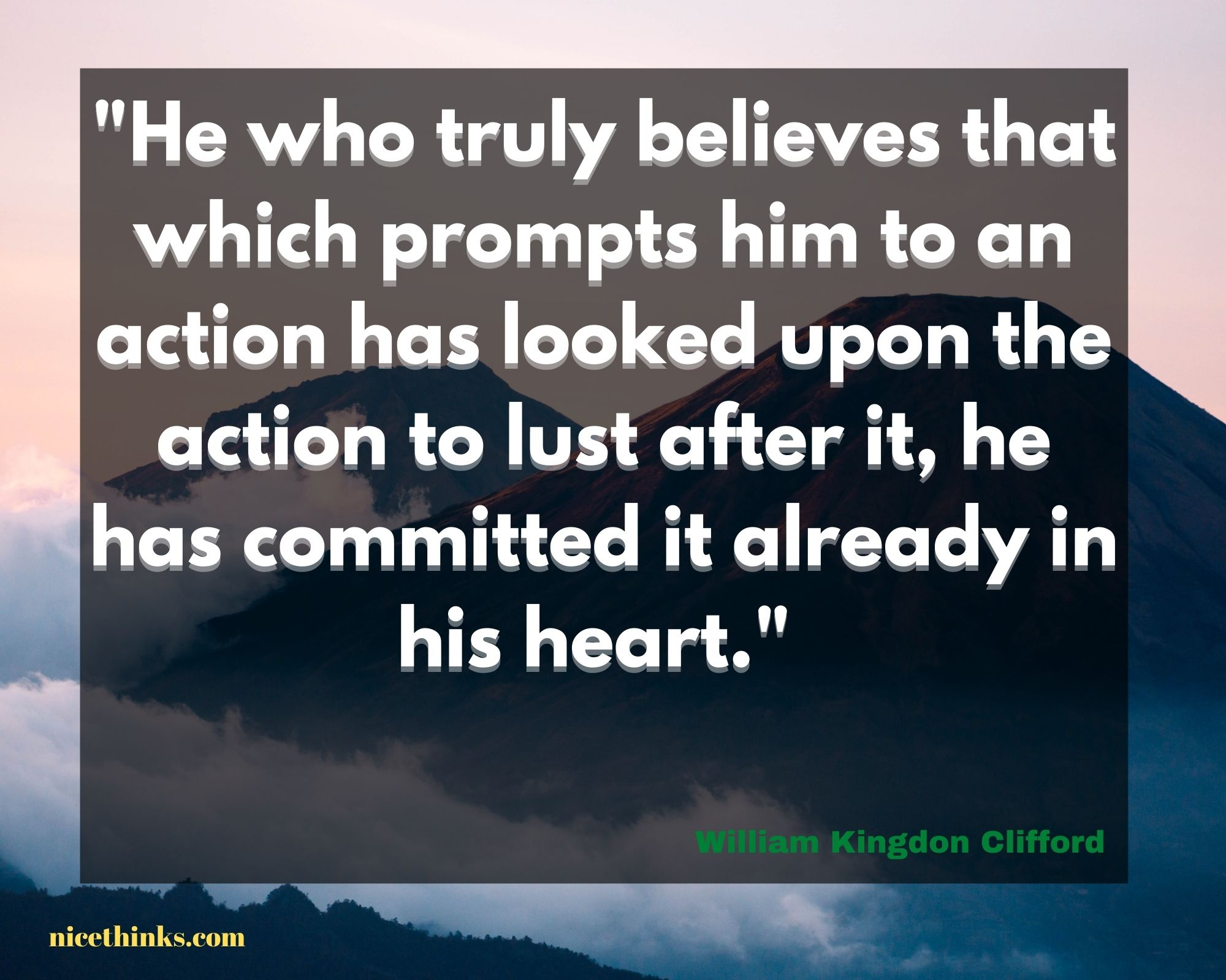 Quote by William Kingdon Clifford