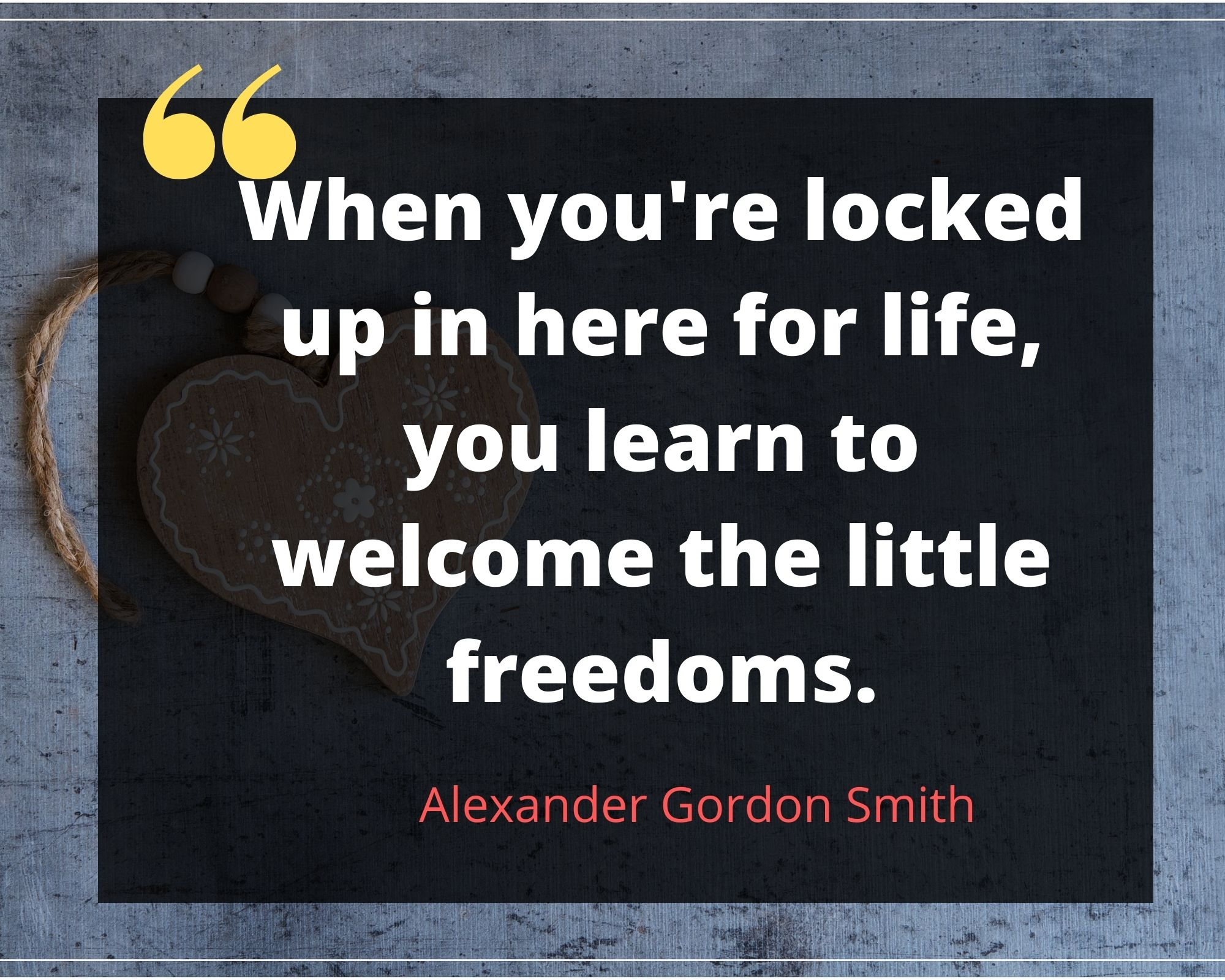 Alexander Gordon Smith Quotes