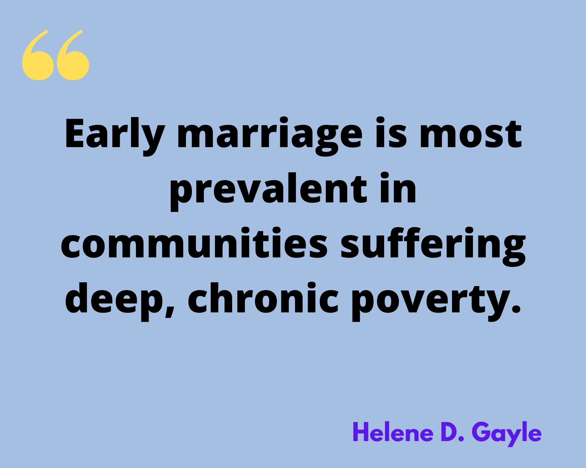 Helene D. Gayle Quotes
