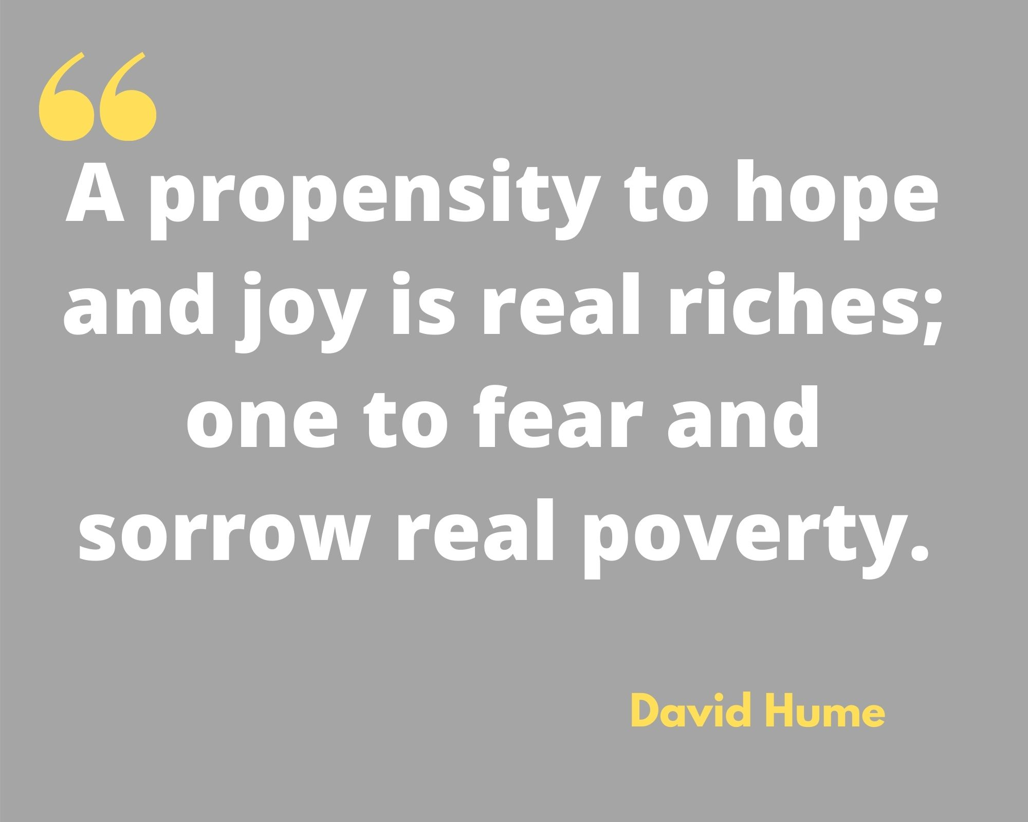 David Hume Quotes