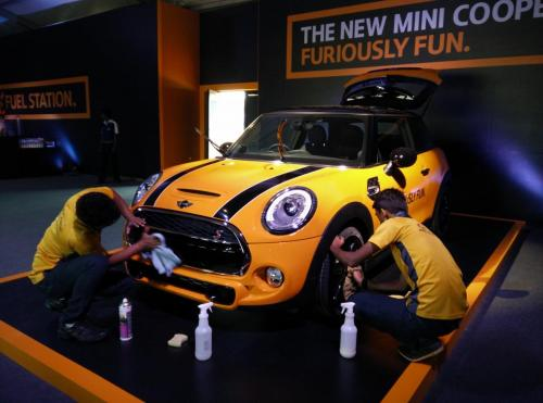Mini Cooper Event Launch