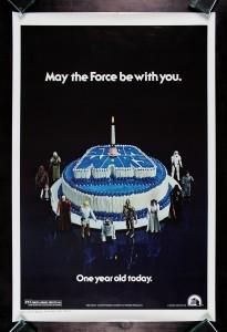 Star Wars Happy Birthday One Sheet