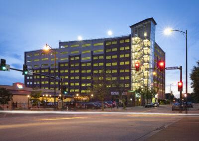 5th & Walnut Parking Garage – Columbia, MO