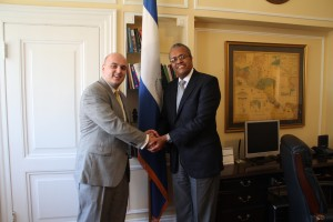 PETER AND AMB. CAMPBELL Nicaragua