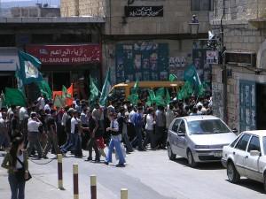 Hamas rally