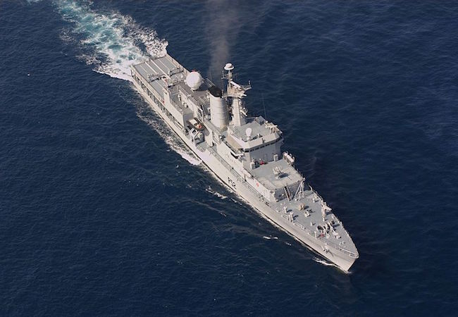 INS Suvarna (P52), a Sukanya class patrol vessel of the Indian navy (Photo: Courtesy of WikiCommons)