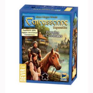 Juego Mesa Expansion Carcassonne Posadas y Catedrales