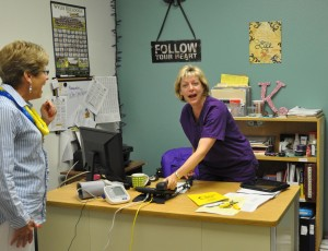 Teacher Grants 2013 KristiPrice,schoolnurse,VisionScreeningMachine