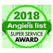 Angies list Super Service Awards 2018