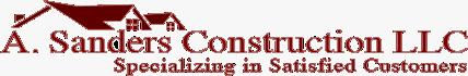 A. Sanders Contruction LLC.