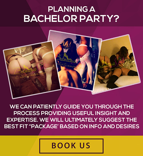 Book us for your bachelor party