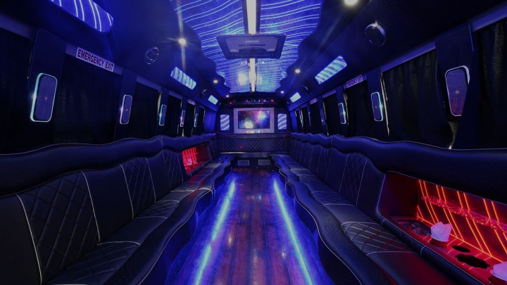 Party Bus Packages Background