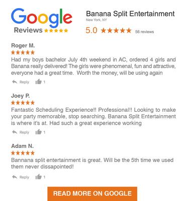 Banana Split Entertainment Google Reviews