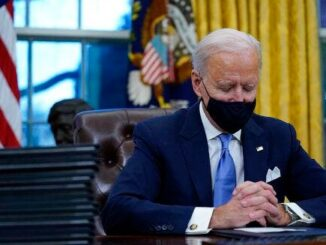 Biden - Asleep or praying