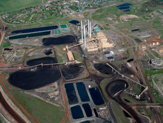 Montana Colstrip coal-fired plant