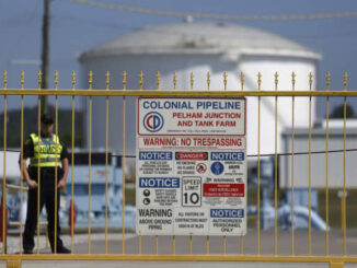 Pipeline Cyberattack- Colonial - mostly still closed