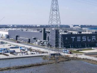 Tesla Plant in China - EnergyNewsBeat.com