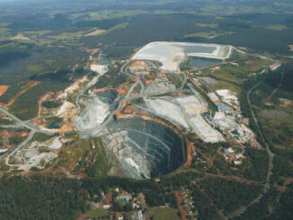 Australia - lithium mine