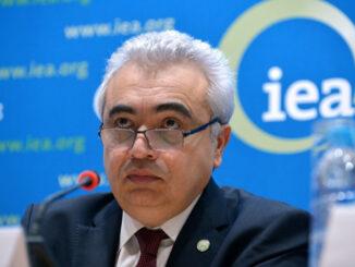 ED IEA Fatih Birol - in a press conf