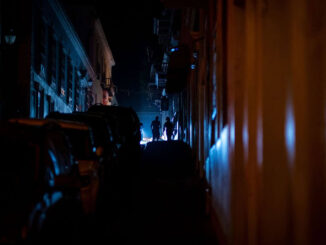 old san juan during a power outage on June 10 - Photo - Ricardo Arduengo - Getty Images