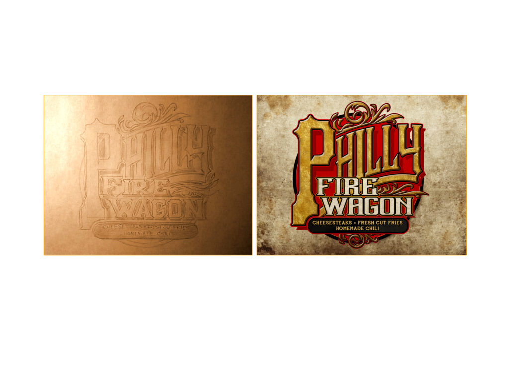 Philly-Fire-Wagon-Logo-Deisgn-Sketch-and-Final