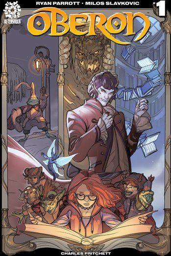 """The Hollywood Reporter: """"Oberon"""" Brings a Dark Fairy Tale to Comics"""