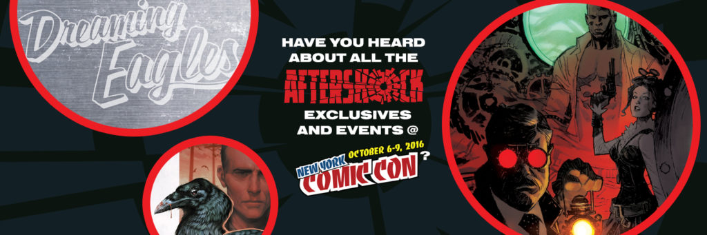 AfterShock at New York Comic Con 2016