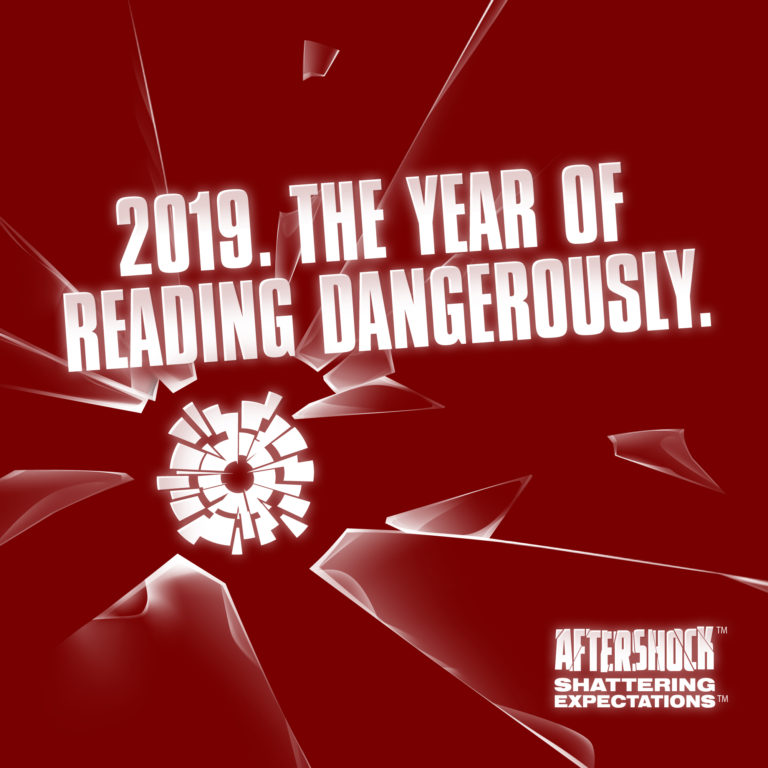 """AfterShock Comics Ushers in 2019 as """"The Year of Reading Dangerously"""""""