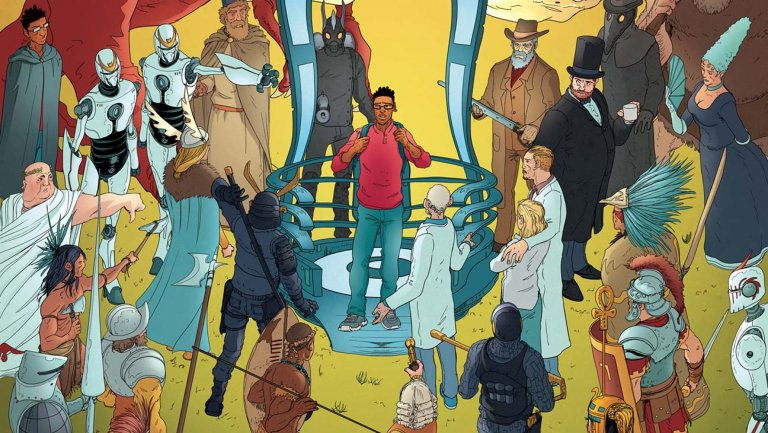 The Hollywood Reporter: How New Time Travel Comic Subverts the Genre