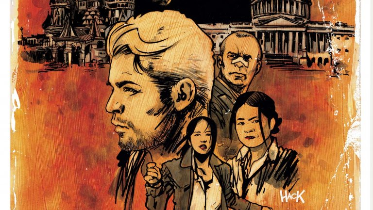 The Hollywood Reporter: Modern Cold War Comic 'Red Atlantis' Launching in June